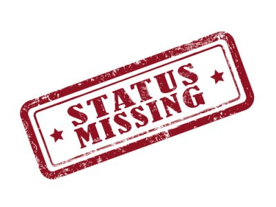 status missing shutterstock_278164802