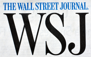 Wall Street Journal editorial