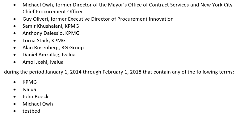 Mayor's Office of Contract Services