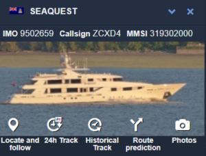 Betsy DeVos's yacht